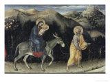 Flight into Egypt (Predella Detail from Adoration