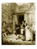Franklin's Bookshop  1745