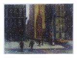 Wall Street Blizzard  New York City