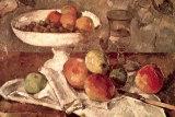 Natures mortes Reproduction d'art par Paul Cézanne
