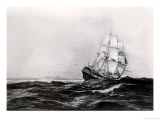 The Endeavour at Sea  1900