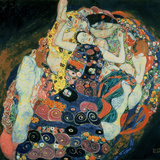 La vierge, 1913 Reproduction d'art par Gustav Klimt