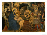 The Adoration of the Magi  Detail of Virgin and Child with Three Kings  1423