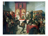 Catholic Rulers Administering Justice  1860