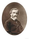 """Guiseppe Verdi from """"Galerie Contemporaine """" 1877"""