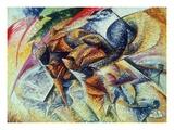Dynamism of a Cyclist (Dinamismo Di Un Ciclista) 1913