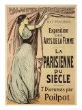 "Reproduction of a Poster Advertising ""La Parisienne Du Siecle"""