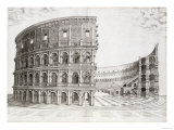 The Colosseum  Built in AD 80
