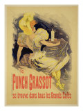"""Reproduction of a Poster Advertising """"Punch Grassot """" 1895"""