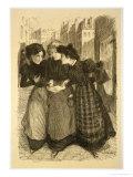 """Original Drawing for """"Les Maitres De L'Affiche"""""""
