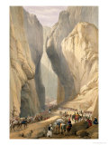 """Entrance to the Bolan Pass from Dadur  from """"Sketches in Afghaunistan"""""""