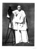 Portrait of Jean Charles Deburau as Pierrot  circa 1850-60