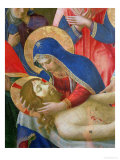 Lamentation over the Dead Christ  1436-41 (Detail)