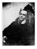 Charles Baudelaire Seated in a Louis XIII Armchair  1855