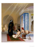 Pool in a Harem  circa 1876