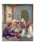 Writing Lesson in a Koranic School in an Algerian Village  1918