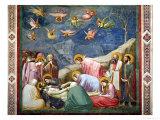 The Lamentation of the Dead Christ  circa 1305