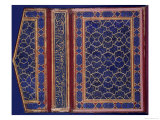 Inner Face of a Koran Case with a Thulth Inscription on the Binding