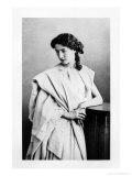 "Sarah Bernhardt in the Role of Junie in ""Britannicus"" by Jean Racine circa 1860"