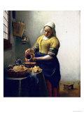 The Milkmaid  circa 1658-60