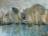 Vue du Havre, 1873 Reproduction d'art par Claude Monet
