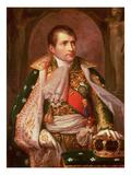Napoleon Bonaparte (1769-1821)  as King of Italy  1805