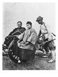 Chinese Rickshaw  circa 1870