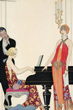 Incantation  Illustration for 'Gazette Du Bon Ton'  1922 (Pochoir Print)