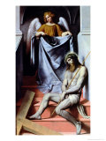 Christ and the Angel  circa 1550-54