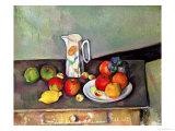 Still Life with Milkjug and Fruit  circa 1886-90