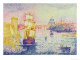 The Port of Marseilles  circa 1909