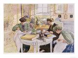 """Trousseau  Published in """"Lasst Licht Hinin """" (""""Let in More Light"""") 1910"""
