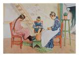 Shelling Peas  Pub in 'Lasst Licht Hinin'(`Let in More Light')  1909