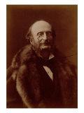 Jacques Offenbach  German Composer  Portrait Photograph