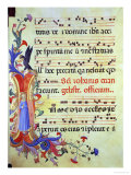 "Historiated Initial ""I"" Depicting St John the Evangelist"