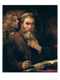 St Matthew and the Angel  1655-60