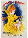 Quinquina Dubonnet Giclée par Jules Chéret
