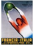 Francia-Italia Football  1935