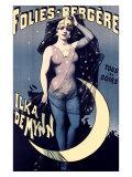 Folies Bergere  Moonlit Night