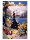 Summer Tours, Union Pacific Railroad Giclée