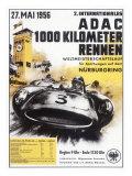 Nurburgring 1000 Auto Race, c.1956 Giclée
