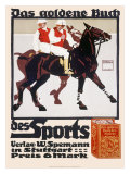 Golden Book of Sports  Horse Polo