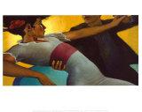 Rêve ambré Reproduction d'art par Bill Brauer