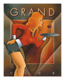 The Grand Club Reproduction d'art par Michael L. Kungl