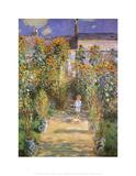 Garden at Vetheuil  c1881