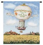 Flight over Sunflowers