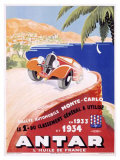 Antar Motor Oil Monte Carlo Rallye