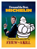 Michelin  Tire James Bond