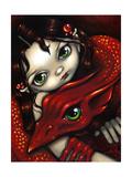 Elf Maiden & Her Dragon