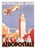 Marocco via Aeropostale Airline